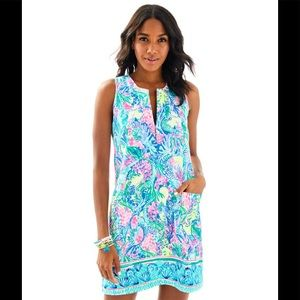 Lilly Pulitzer Mermaid Cove Kelby Shift